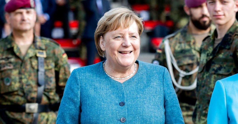 Den afgående tyske forbundskansler, Angela Merkel