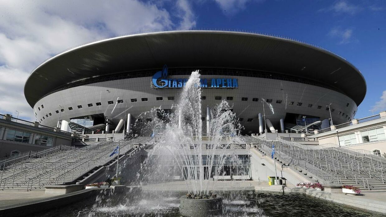 Champions League-finalen i 2022 spilles i Sankt Petersborg.