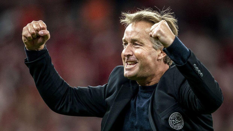 Kasper Hjulmand får Christian Poulsen som assistent.