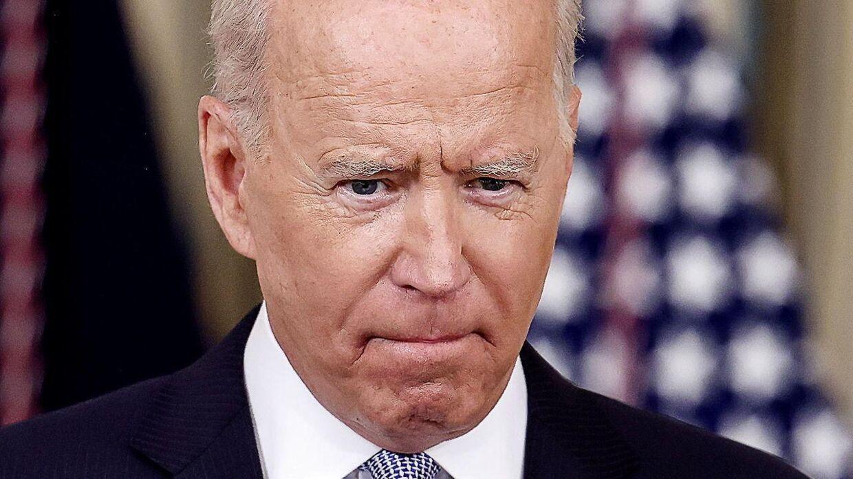 Tilslutningen til Joe Biden er nedadgående, viser målinger fra analysefirmaet Fivethirtyeight.