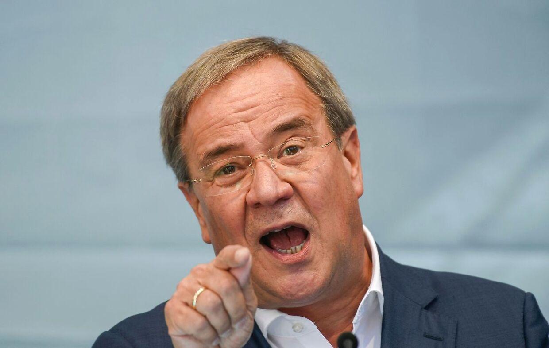 Armin Laschet er Angela Merkels arvtager hos CDU.