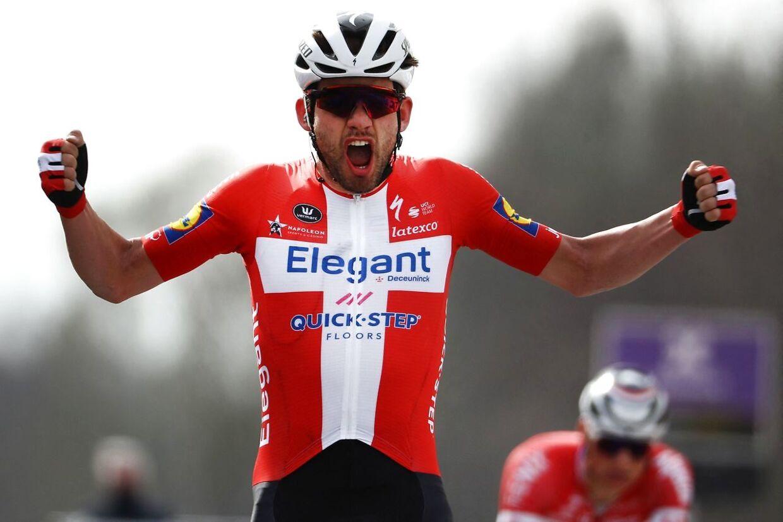 Kasper Asgreen vandt monumentet Flandern Rundt foran den regerende vinder, Mathieu van der Poel