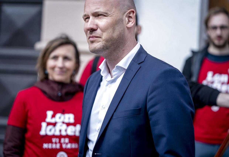 Anders Kühnau var regionernes chefforhandler i forhandlingerne med Dansk Sygeplejeråd.