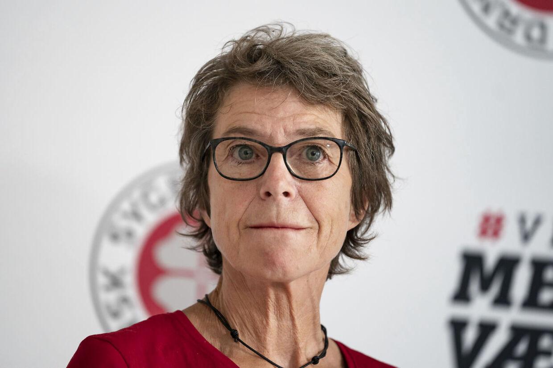 Dansk Sygeplejeråds formand, Grete Christensen.