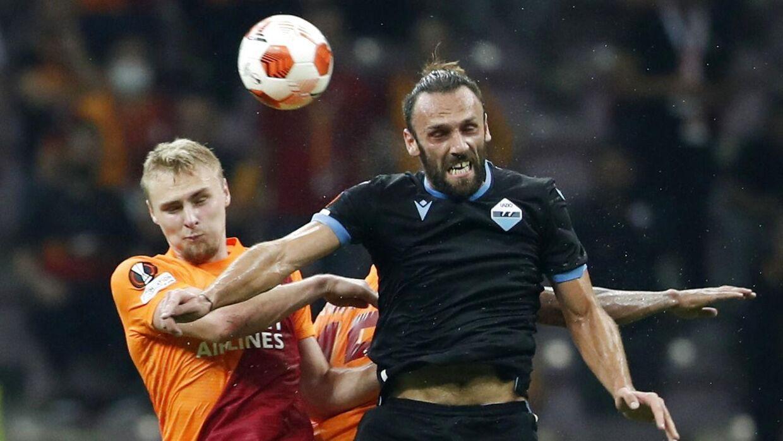 Galatasaray købte i sommer Victor Nelsson (til venstre) for 52,5 millioner kroner.