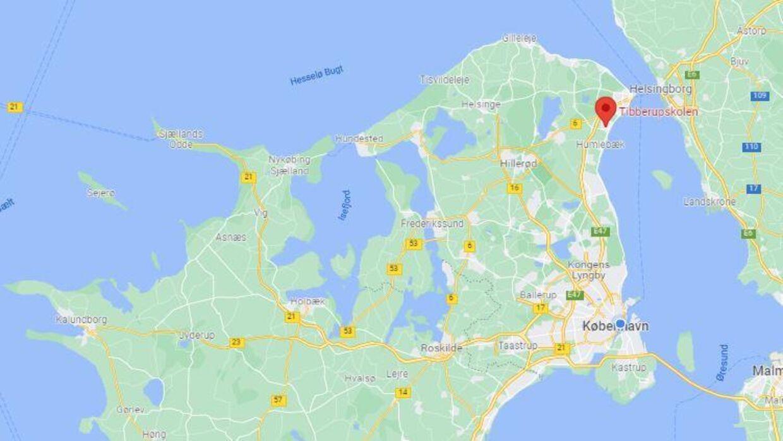 En voldsepisode har fundet sted på Tibberupskolen i Espergærde i Nordsjælland.