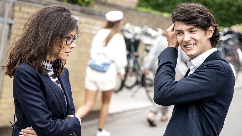 Grevinde Alexandra har flere gange fortalt, at hun er stolt af sin ældste søn, der blandt andet er model.