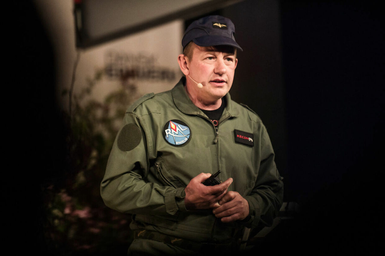 Opfinderen Peter Madsen var kendt i offentligheden som raket og ubådsbygger der havde en drøm om at blive den første amatør i rummet. Her er han fotogaferet under et foredrag den 9. maj 2017. (Foto: Ida Marie Odgaard/Ritzau Scanpix)