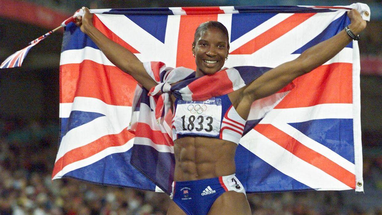 Denise Lewis vandt OL-guld i syvkamp i 2000.