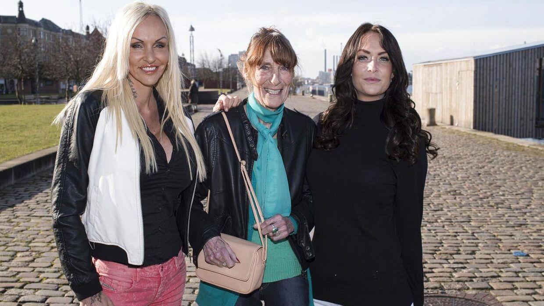 Geggo sammen med Linse og Mopper i 'Familien fra Bryggen's syvende sæson