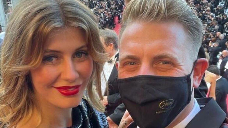 Martin Jensen med sin nye kæreste, Cassandra Greve.