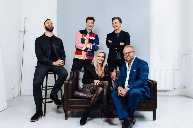 WeAreCube-holdet og de nye svenske ejere.