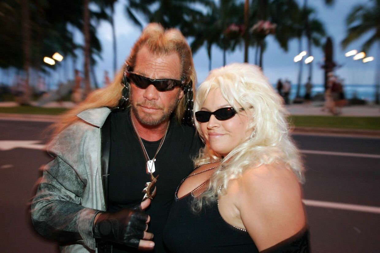 ARKIVFOTO af Duane 'Dog' Chapman med sin hustru, Beth.
