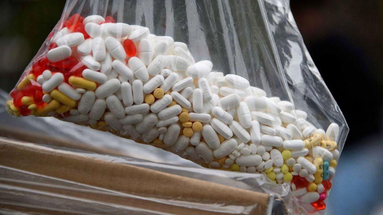 ARKIV FOTO: Dødelige piller, der ligner receptpligtig piller, oversvømmer lige nu USA. DEA advarer nu.