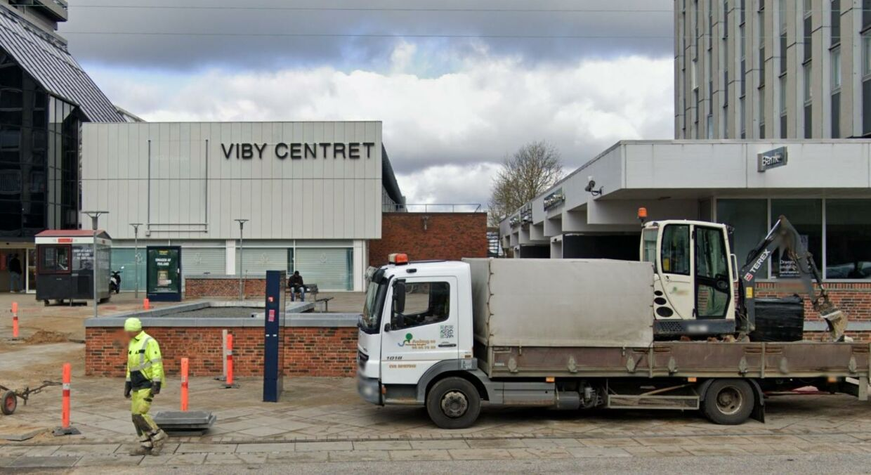 Viby Centret. Foto:Google Street View.
