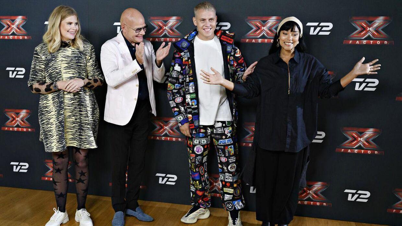 Kwamie Liv er ny 'X Factor 2022'-dommer sammen med veteranen Thomas Blachman og dj'en Martin Jensen. Sofie Linde bliver atter engang vært på TV2-programmet.