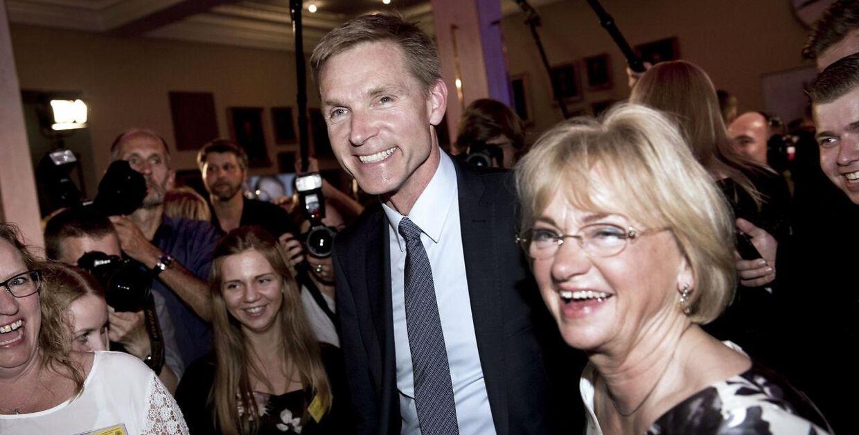 Kristian Thulesen Dahl og Pia Kjærsgaard