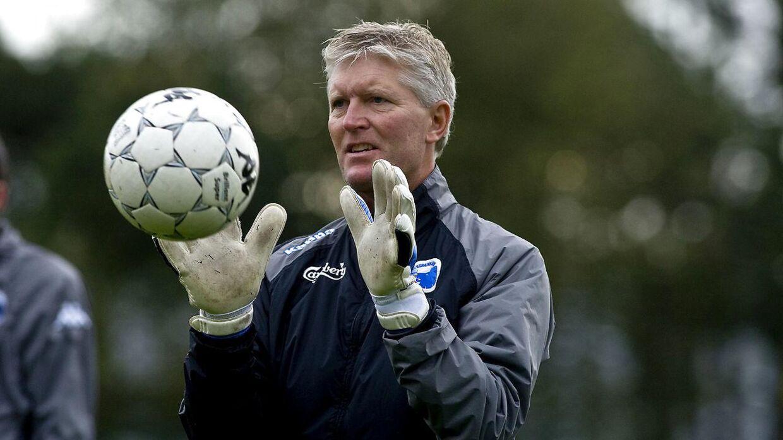 Per Wind var i mange år målmandstræner i FCK.