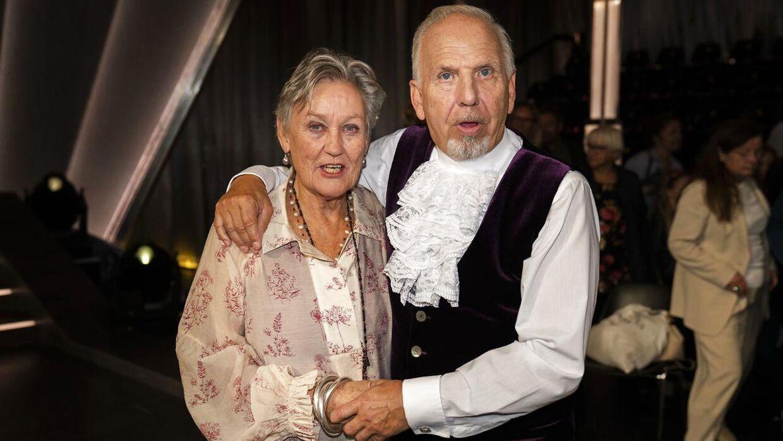 Jacob Haugaard og hans hustru Ilse.