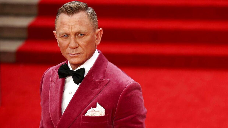Daniel Craig spiller rollen som James Bond for sidste gang i 'No Time To Die'.
