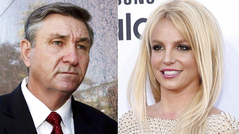 Jamie Spears, far til Britney Spears, og Britney Spears. i slutningen af september blev han fjernet som hendes værge.