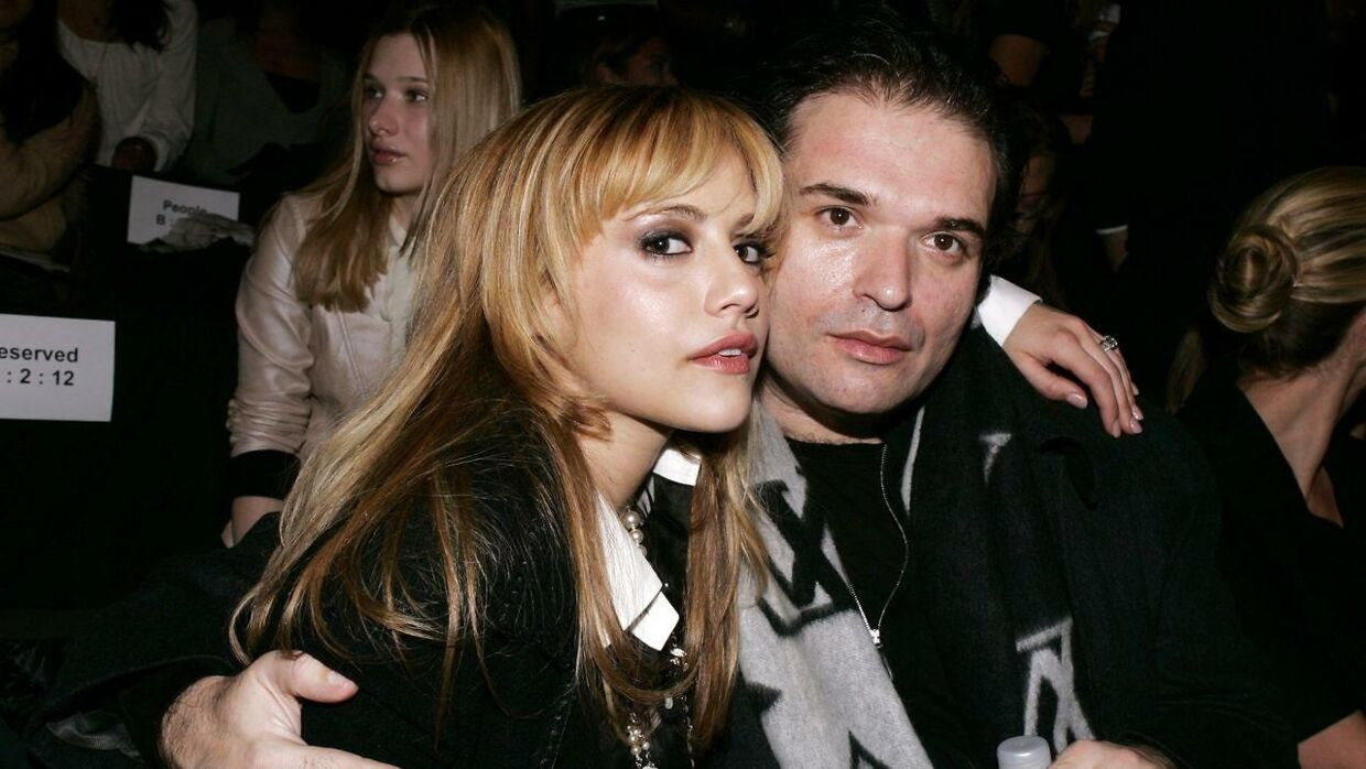 Brittany Murphy med sin ægtemand Simon Monjack.