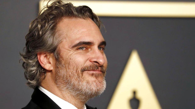 Joaquin Phoenix har netop klippet sine lange lokker af.