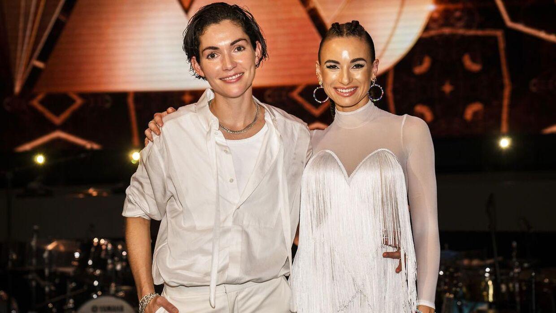 Freja Kirk og Claudia Rex dansede sig videre til næste uge i det femte program af 'Vild med dans'.