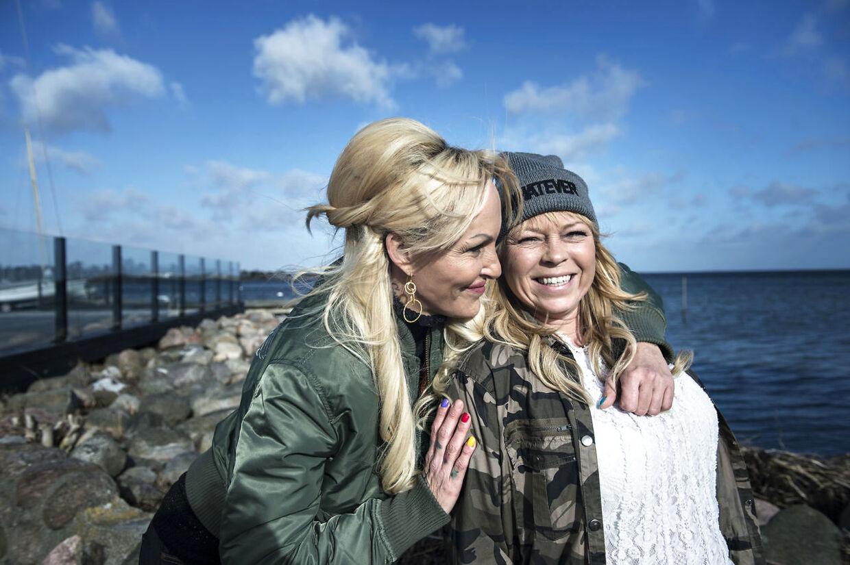 Didde Skjelmose og Linse Kessler har været veninder i 26 år og fik begge deres folkelige gennembrud i 'Familien fra Bryggen' i 2011.