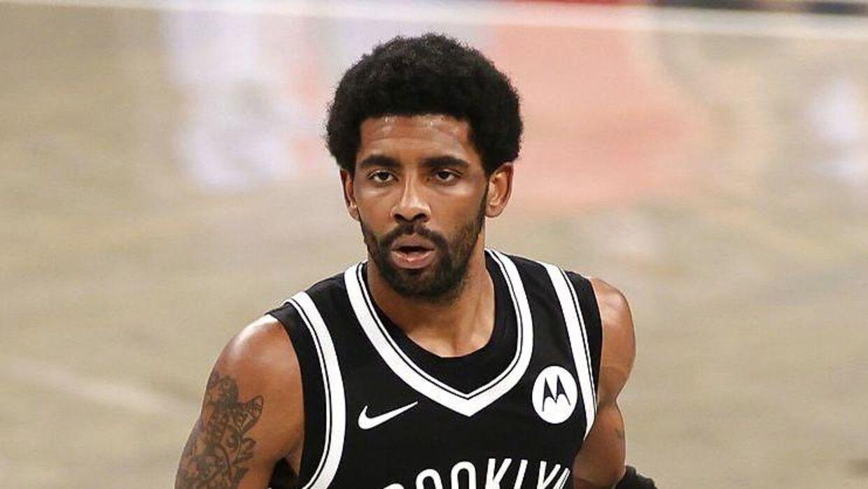 Stjernen Kyrie Irving må ikke spille for sit hold, Brooklyn Nets.