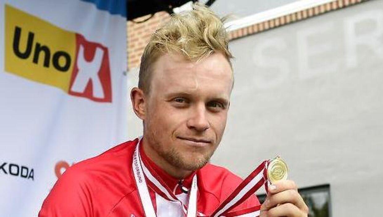 Mads Würtz Schmidt har vundet DM på landevej i 2021, ligesom han snuppede en etapesejr i Tirreni-Adriatico.
