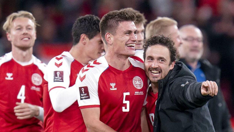 Mæhle scorede det enlige mål mod Østrig.