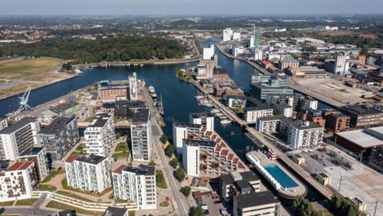 Odense Havn kan se frem til en helt ny bydel.
