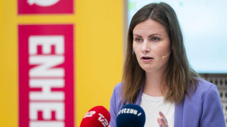 Mai Villadsen, Enhedslistens politiske ordfører.