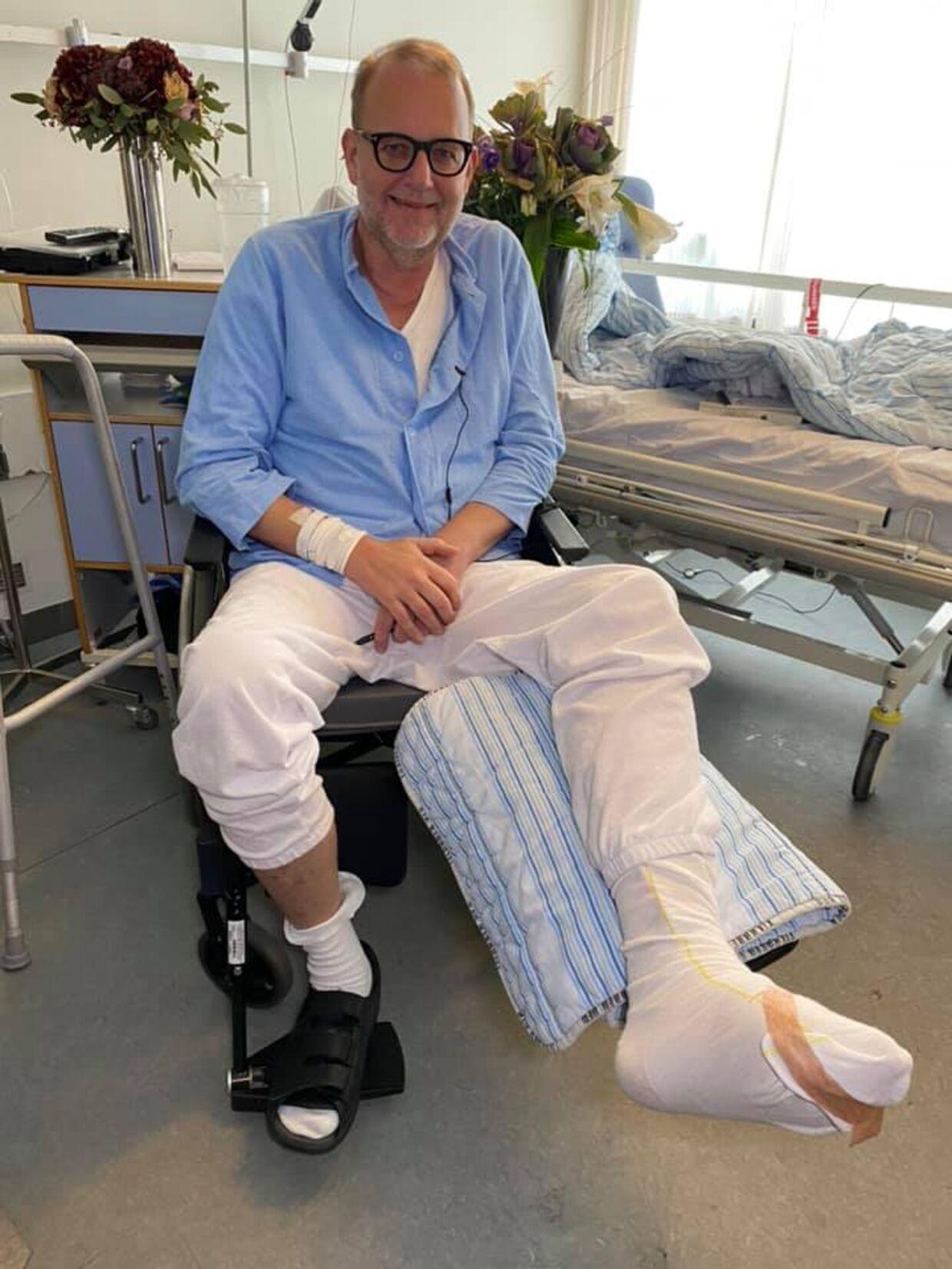 Lars Christian Lilleholt delte onsdag nyheden om, at han sygemelder sig fra Folketinget. Foto: Lars Christian Lilleholt