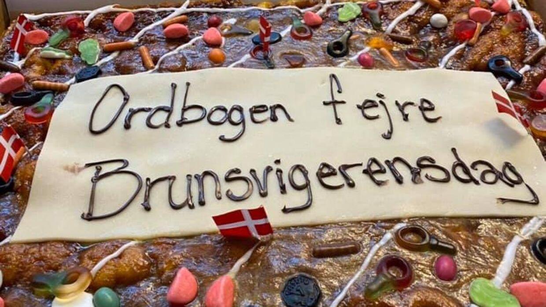 Ordbogen.com fejrede torsdag brunsvigerens dag med tre store kager. Men ikke alle medarbejdere var lige begejstret for det syn.
