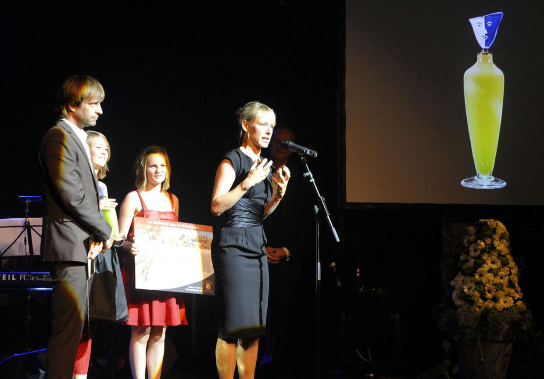 Iben Hjejle takkede mange gange for prisen.