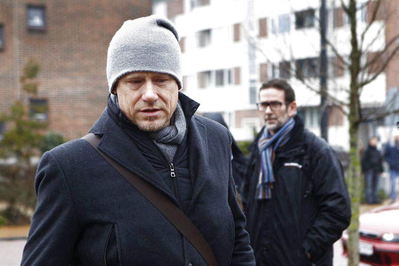 Tidligere landsholdsmålmand Peter Schmeichel understregede Ricardos betydning for ham selv personligt og som spiller, da han ankom til bisættelsen.
