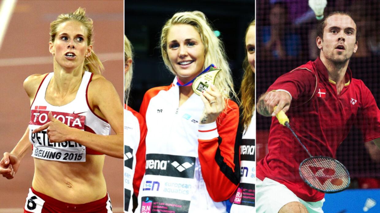 Sara Slott Petersen, Jeanette Ottesen og Jan Ø. Jørgensen er bare nogle af de mange danske sportsprofiler, som kan gå hen og vinde medaljer i 2016
