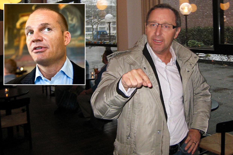 """Stein Bagger er """"en manipulator i verdensklasse, mener Finn Nørbygaard,  som mistede 437 mio. kr. på Beggers svindelnumre."""