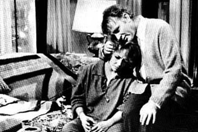 Richard Burton med Elizabeth Taylor.
