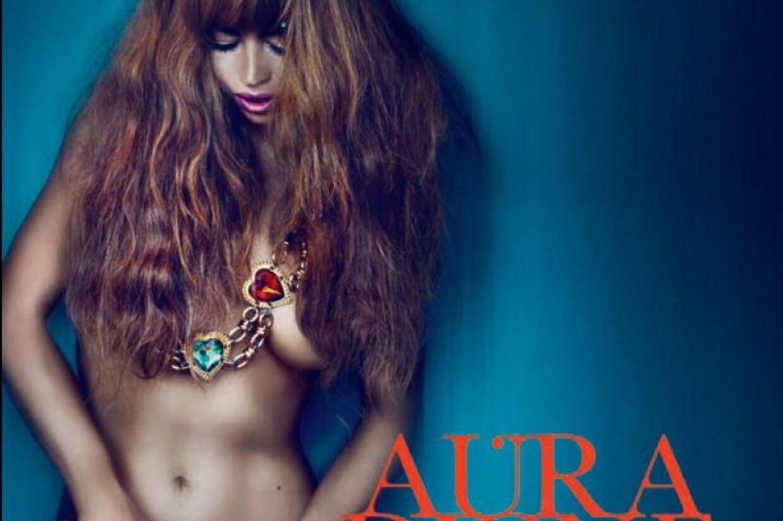 Danske Aura har lavet ét af årets allerbedste popalbum. Klik for at se hele det vovede cd omslag.