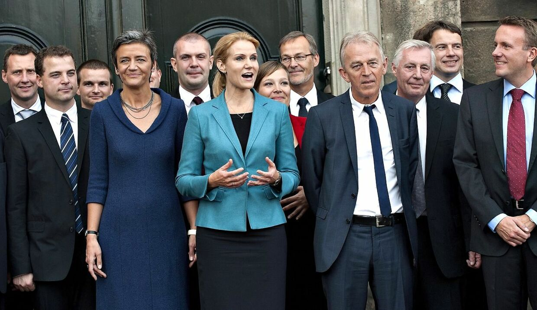 I alt 14 ministre får glæde af børnetilskuddet.