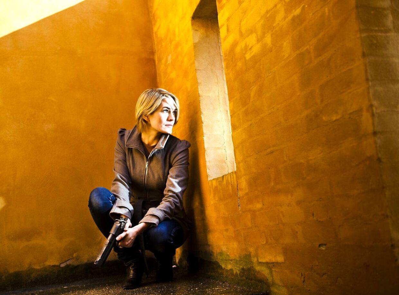 Portræt af den unge skuespillerinde Laura Sofia Bach, der har hovedrollen i TV2-serien 'Den som dræber' (Foto: Jonas Vandall / Scanpix)