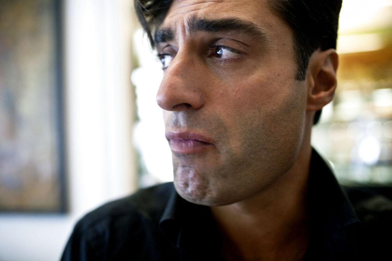 Farshad Kholghi. Arkivfoto