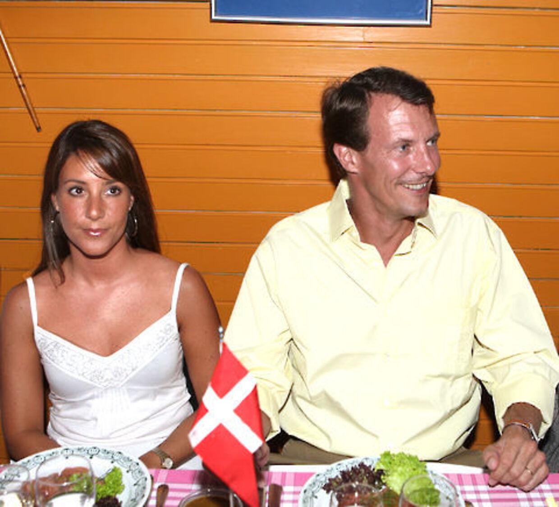 Prinsesse Marie og prins Joachim.