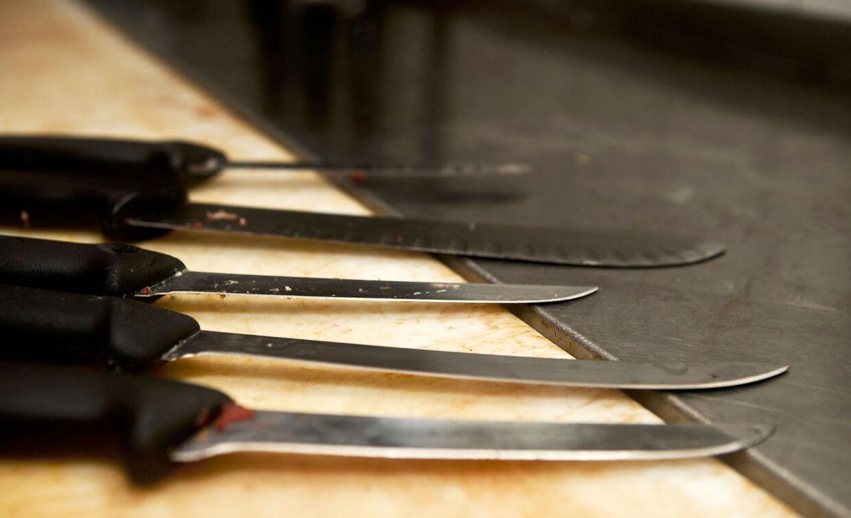 Arkivfoto: Slagterknive