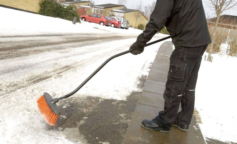 Det kan koste dig kassen, hvis nogen kommer til skade på dit snedækkede fortov.
