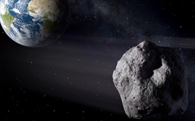 I næste uge kommer en stor asteroide meget tæt på jorden. (Foto: NASA)