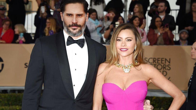 Her ses hun sammen med sin mand Joe Manganiello.
